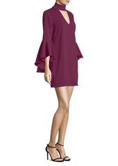 Milly Andrea Bell-Sleeve Dress