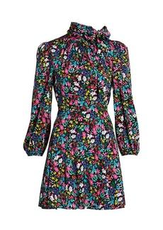 Milly Annika Garden Floral Dress