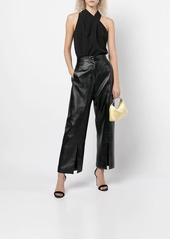 Milly asymmetrical sleeveless blosue