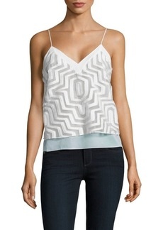 Milly Aztec Camisole Top