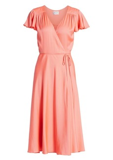 Milly Baker Stretch Silk Dress