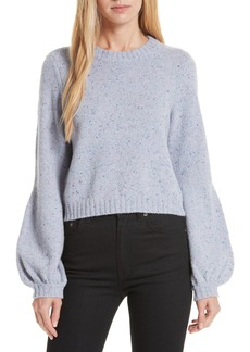 Milly Bell Sleeve Wool Blend Sweater