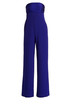 Milly Cady Brooke Strapless Jumpsuit