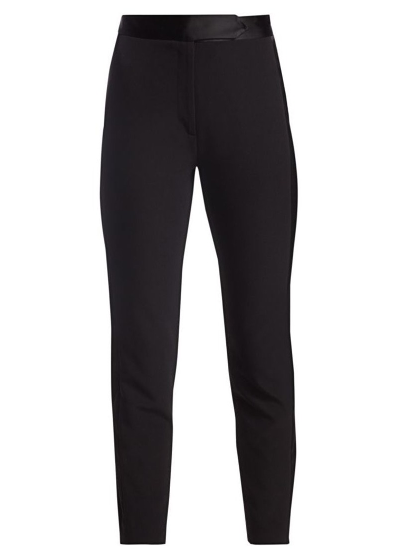 Milly Cady Paneled Ankle Pants