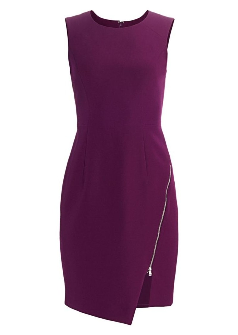 Milly Cady Zipper Sheath Dress