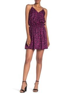 Milly Ciera Silk Leopard Tank Dress