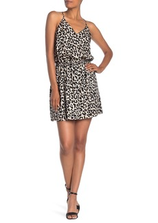 Milly Ciera Silk Leopard Tank Dress