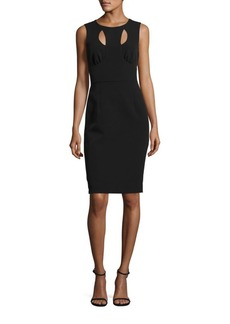 Milly Cressida Sleeveless Cutout Dress