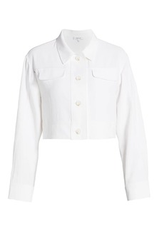 Milly Cropped Utility Jacket