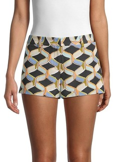 Milly Dickies Print Shorts