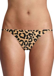 Milly Elba Leopard Bikini Bottom