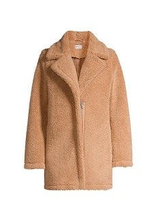 Milly Eldridge Faux Shearling Teddy Coat