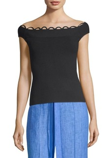 Milly Eyelet Shell Top
