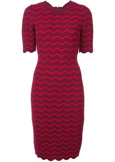 Milly fitted midi dress
