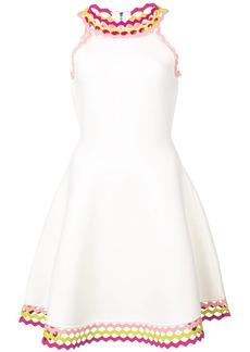 Milly flared mini dress