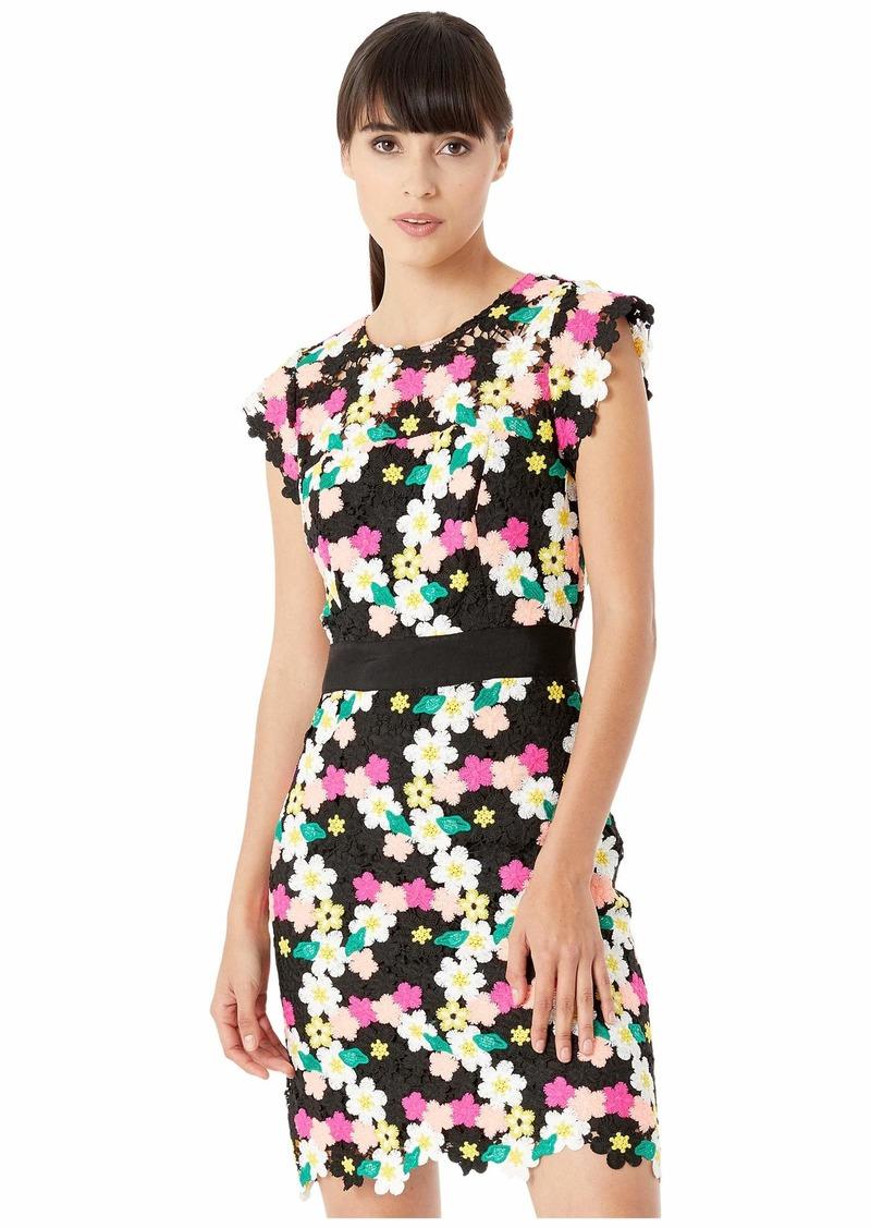 Milly Floral Crochet Leila Dress