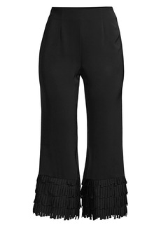 Milly Fringe Cuff Pants