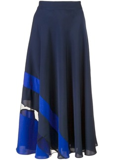 Milly full flared skirt