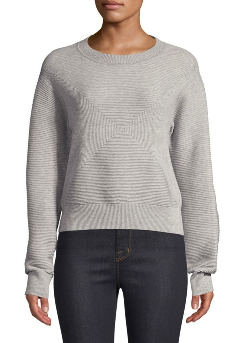 Milly Geo Textured Sweater