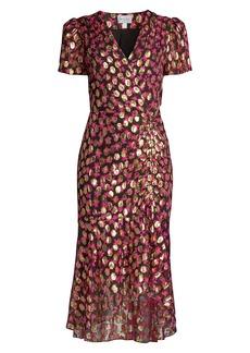 Milly Glyn Lurex Medallion Dress