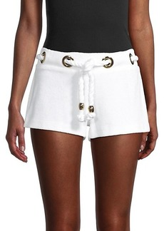 Milly Harbour Island Knotted Shorts