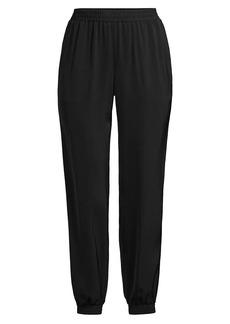 Milly Harriet Crepe Slim Pants