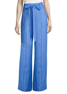 Milly Hayden Linen Pants