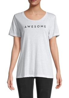 Milly Heathered Awesome T-Shirt
