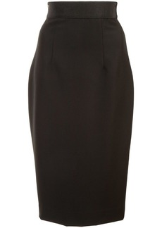 Milly high-waisted pencil skirt