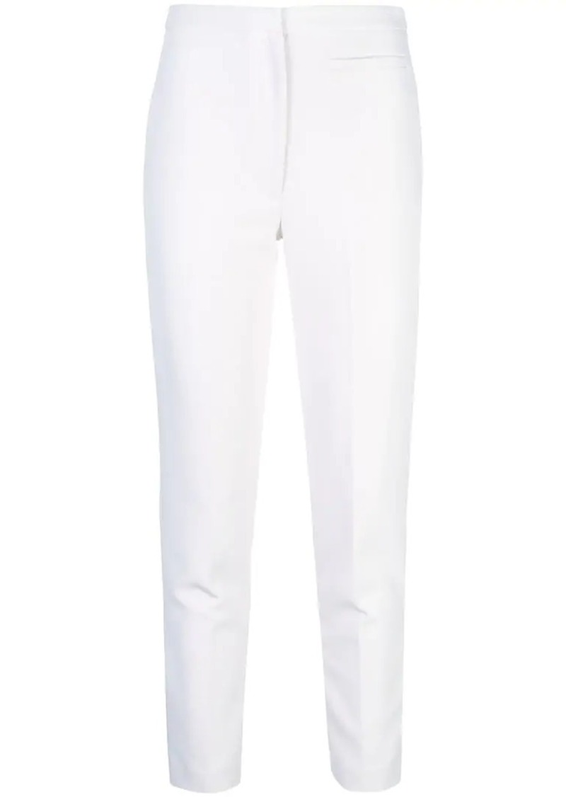 Milly high-waisted skinny trousers