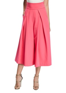Milly Italian Cady Culotte Pants