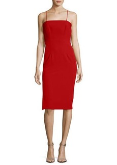 Milly Italian Cady Pencil Dress