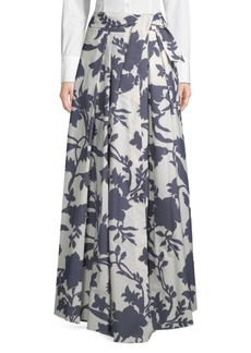 Milly Jackie Floral Maxi Skirt