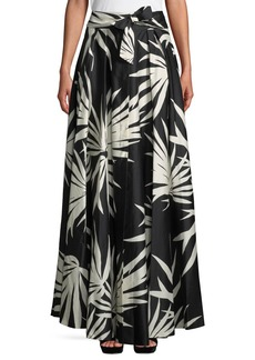 Milly Jackie Woven Maxi Skirt