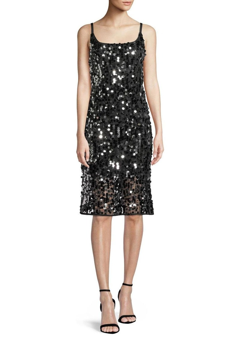 Milly Jessie Sequined Sleeveless Dress