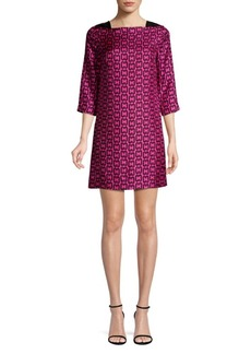 Milly Julia Chain Print Mini Dress