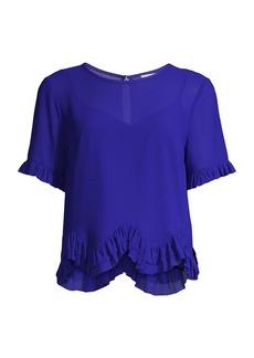 Milly Julia Chiffon T-Shirt