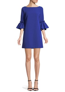 Milly Kinsley Italian Cady Shift Dress
