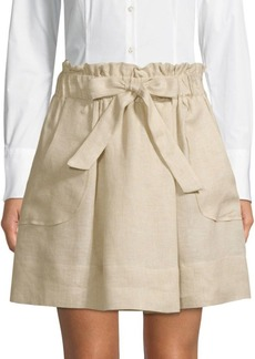 Milly Kori Gathered Skirt