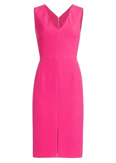 Milly Kristian Sleeveless Cady Dress