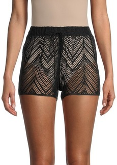 Milly Lace Coverup Shorts