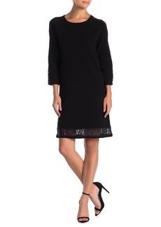 Milly Lace Hem Dress