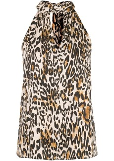 Milly leopard print top