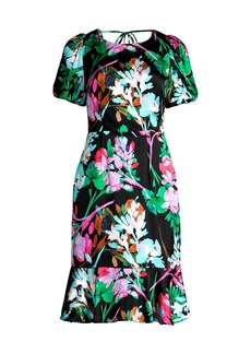 Milly Liora Neon Floral Dress