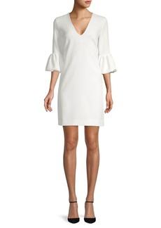 Milly Mandy Bell-Sleeve Shift Dress