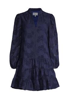 Milly Margaret Pieres Eyelet Dress