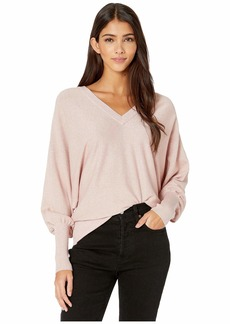 Milly Metallic Dolman Sweater