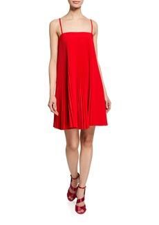 Milly Mila Sleeveless Pleated Dress