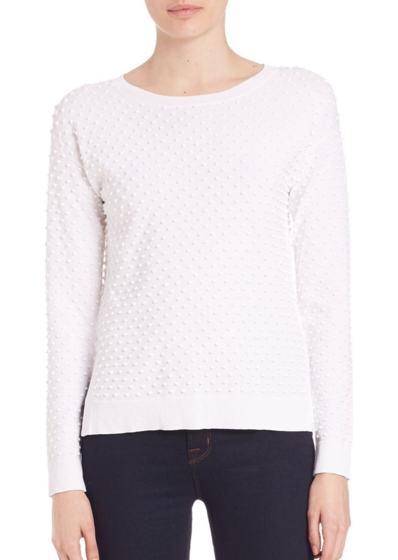 MILLY 3D Dot Pullover