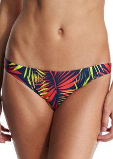 Milly St. Lucia Palm-Print Swim Bottom